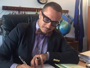 Il Direttore dell'Ispettorato Territoriale di Napoli Dott. Giuseppe Cantisano