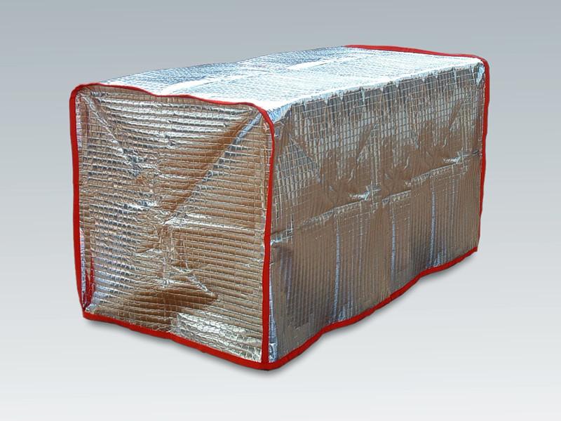 La protezione del cibo durante il trasporto con le coperte termiche