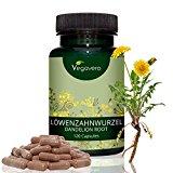 Estratto di Tarassaco Vegavero | Integratore Completamente Naturale per Depurazione - Diuresi - Stitichezza - Sovrappeso | Integratore Vegan senza Glutine e Lattosio | 120 capsule da 140 mg | Certificazione di qualità |